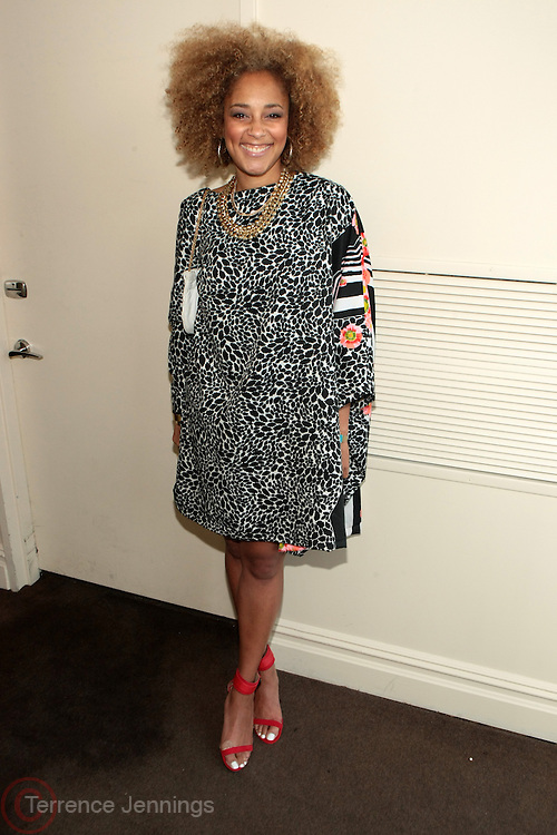 "9 September 2013- New York, NY: Recording Artist/DJ/Media Personality Amanda Seales attends the "" Hair Icon '  Cocktail & Dinner party presented by Beautiful Textures in partnership with BET Networks and Cadillac held at the Mondrian Soho Penthouse on September 9, 2013 in New York City. ©Terrence Jennings"