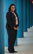 Elementary School Principal of the Year Tonya Woods at Lewis Elementary School, May 8, 2013.