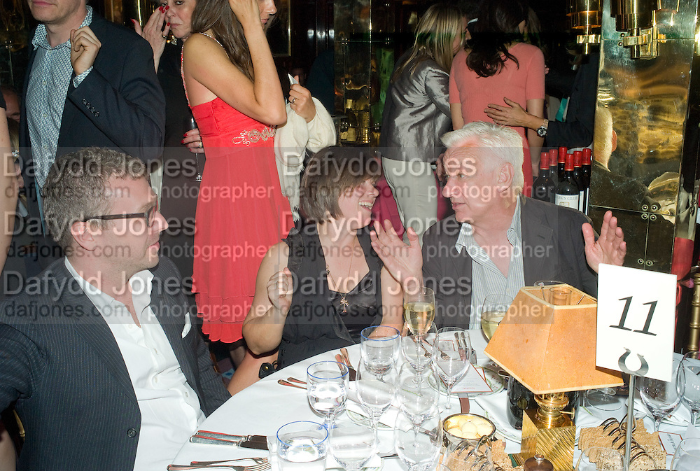 JANE WILSON; MICHAEL CRAIG-MARTIN, Richard Prince opening at the Serpentine gallery and afterwards at Annabels. London. 25 June 2008 *** Local Caption *** -DO NOT ARCHIVE-© Copyright Photograph by Dafydd Jones. 248 Clapham Rd. London SW9 0PZ. Tel 0207 820 0771. www.dafjones.com.