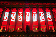 160426 Liverpool Hillsborough Light Tribute