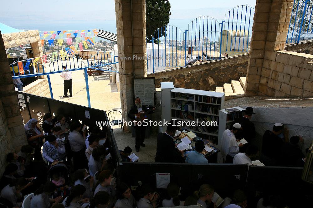 Israel, Upper Galilee, Tomb of Rabbi akiva (Akiba ben Joseph)