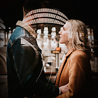Light at the End of the Tunnel ~ Claire & Ben's York City Centre Engagement Shoot