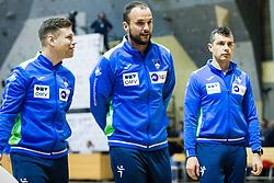 Uros Zorman of Slovenia during friendly handball match between national teams Slovenia and Montenegro on 4th Januar, 2020, Trbovlje, Slovenia. Photo By Grega Valancic / Sportida