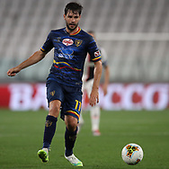 Lecce's Ukranian midfielder Yevhen Shakhov during the Serie A match at Allianz Stadium, Turin. Picture date: 26th June 2020. Picture credit should read: Jonathan Moscrop/Sportimage