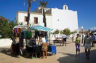 Espa&ntilde;a. Islas Baleares. Formentera. Iglesia de Sant Francesc.<br /> <br /> &copy; JOAN COSTA