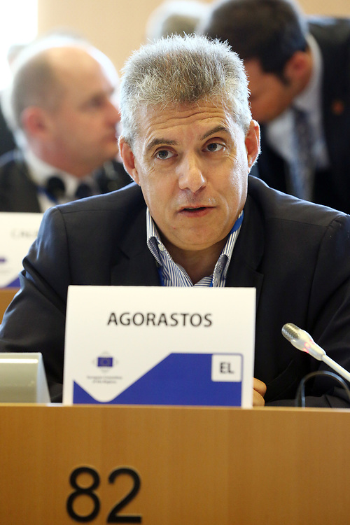 12 May 2017, 123rd Plenary Session of the European Committee of the Regions <br /> Belgium - Brussels - May 2017 <br /> <br /> Mr AGORASTOS Konstantinos, Head of the Region of Thessaly, Greece<br /> <br /> &copy; European Union / Patrick Mascart