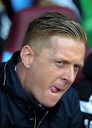Swansea City Manager, Garry Monk  - Photo mandatory by-line: Harry Trump/JMP - Mobile: 07966 386802 - 21/03/15 - SPORT - FOOTBALL - Barclays Premier League - Aston Villa v Swansea City - Villa Park, Birmingham, England.