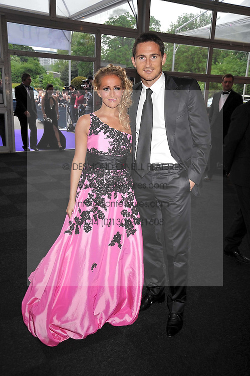FRANK LAMPARD and opera singer KEEDIE BABB at The Butterfly Ball in aid of the Caudwell Children Charity held in Battersea park, London on 14th May 2009.