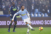 Foto LaPresse/Filippo Rubin<br /> 26/12/2018 Ferrara (Italia)<br /> Sport Calcio<br /> Spal - Udinese - Campionato di calcio Serie A 2018/2019 - Stadio &quot;Paolo Mazza&quot;<br /> Nella foto: PASQUALE SCHIATTARELLA (SPAL)<br /> <br /> Photo LaPresse/Filippo Rubin<br /> December 26, 2018 Ferrara (Italy)<br /> Sport Soccer<br /> Spal vs Udinese - Italian Football Championship League A 2018/2019 - &quot;Paolo Mazza&quot; Stadium <br /> In the pic: PASQUALE SCHIATTARELLA (SPAL)