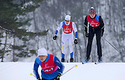 Polish athlete Kamil Bojko with intellectual disability competes in Finals of Cross Country Relay 4 x 1000 meters Race during 2013 Special Olympics World Winter Games PyeongChang at Cross Country Skiing Venue on February 5, 2013...South Korea, PyeongChang, February 5, 2013..Picture also available in RAW (NEF) or TIFF format on special request...For editorial use only. Any commercial or promotional use requires permission...Photo by © Adam Nurkiewicz / Mediasport