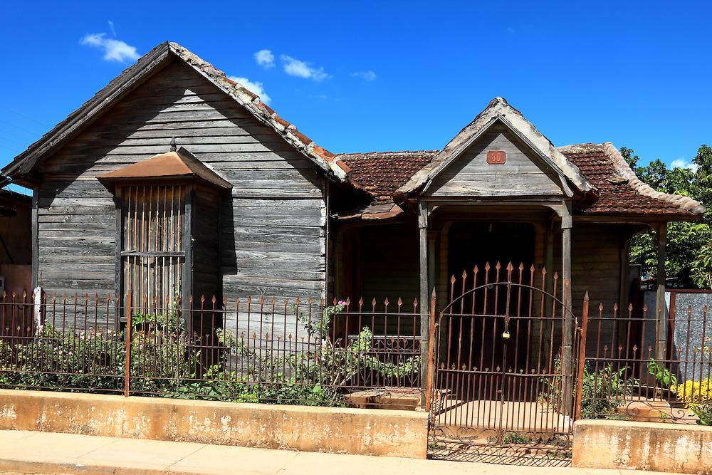 House in San Antonio de los Banos, Artemisa,Cuba.