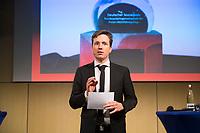 DEU, Deutschland, Germany, Berlin, 22.11.2017:  Johannes Büchs, Moderator beim Deutschen Sozialpreises 2017 der Bundesarbeitsgemeinschaft der Freien Wohlfahrtspflege.