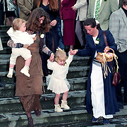 NLD/Haarzuilens/19940517 - Huwelijk Rob Witschge en Barbara van den Boogaard in kasteel Haarzuilen,