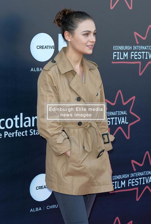 Edinburgh International Film Festival, Thursday, 21st June 2018<br /> <br /> Jury Photocall<br /> <br /> Pictured:  Sophie Skelton of the Shorts Jury<br /> <br /> (c) Alex Todd   Edinburgh Elite media