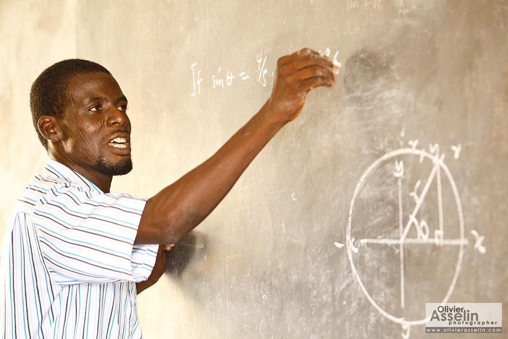 Tamale Islamic Secondary school, Tamale, Northern Region, Ghana on Thursday November 3, 2011.