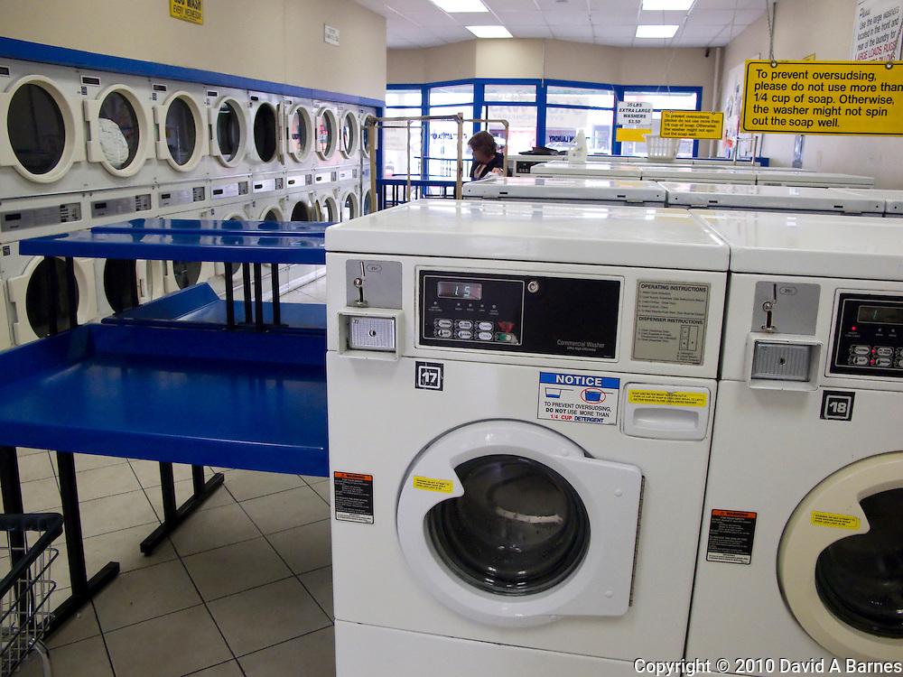 Washing machines, laundromat