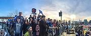 Bernie Sanders rally in Hunters Point in Queens