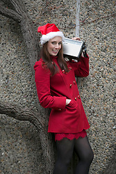 Repo Free: 27 November 2013<br /> Fair City actress Aoibheann McCaul is pictured at launch of Christmas FM, returning tomorrow 28th November to sprinkle lots of festive cheer and seasonal goodwill across Ireland in the run up to Christmas. From now until the 26th of December tune in to hear a host of very familiar radio voices who will be volunteering their time to bring you round-the-clock Christmas tunes and festive updates. This year, Christmas FM will be raising awareness and funds for Aware, the national organisation providing support, information and education services around depression to individuals, families and communities throughout Ireland. With every text sent, &euro;2 is donated to Aware, so get listening and get texting. <br /> Log onto www.christmasfm.com to listen live or to find your local frequency in your area. Pic Andres Poveda<br /> <br /> Follow the station on Facebook at www.facebook.com/christmasfm <br /> <br /> <br /> For further information, please contact:<br /> Breda Brown / Ailbhe Byrne<br /> Unique Media<br /> Tel: 01 522 5200 or 087 2487120 (BB)