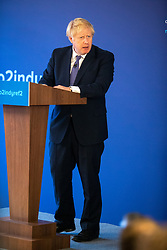The Prime Minister, Boris Johnson launching the Scottish Conservative General Election Manifesto 2019 at the Hilton DoubleTree Hotel, St Margarets Head, Inverkeithing.