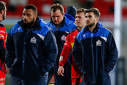 Bristol Rugby Scrum-Half Craig Hampson looks dejected after Bristol lose the match 30-5 - Mandatory byline: Rogan Thomson/JMP - 13/11/2015 - RUGBY UNION - Kingspan Stadium - Belfast, Northern Ireland - Ulster Ravens v Bristol Rugby - The British & Irish Cup Pool 2.