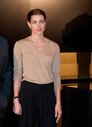 HRH. Carlota Casiraghi opens Cartier exhibition at Thyssen Museum, Madrid, Spain, October 22, 2012. Photo by Belen D. Alonso / DyD Fotografos / i-Images...SPAIN OUT
