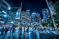 City Centre @ Night (George & Druitt Streets)