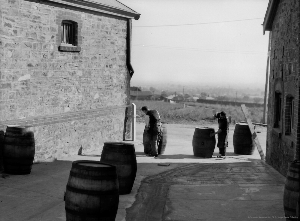 Coopers' Yard, Adelaide, South Australia, 1930