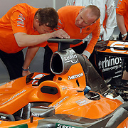 NLD/Volkel/20070420 - Spyker F1 meets F16, Full Throttle 2007, engineers Spyker team