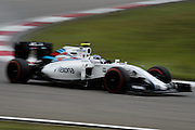April 15-17, 2016: Chinese Grand Prix, Shanghai, Valtteri Bottas (FIN), Williams Martini Racing