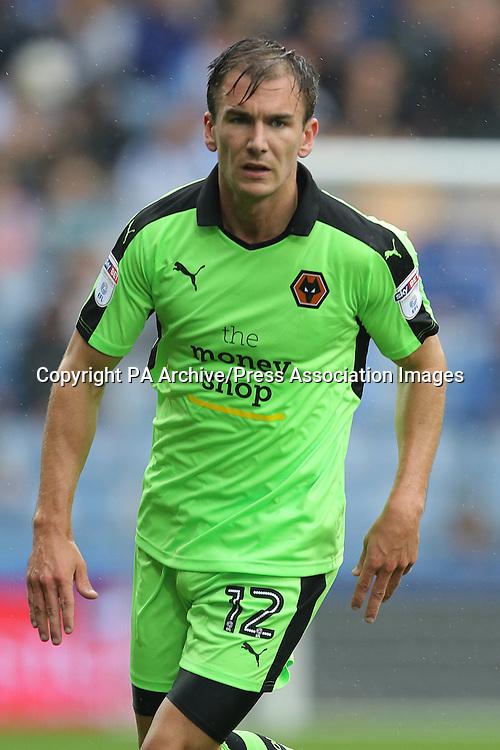 Wolverhampton Wanderers' Jed Wallace