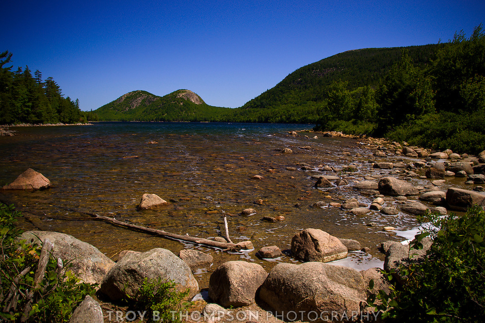 The Bubbles, Pemetic Mountain & Jordan Pond