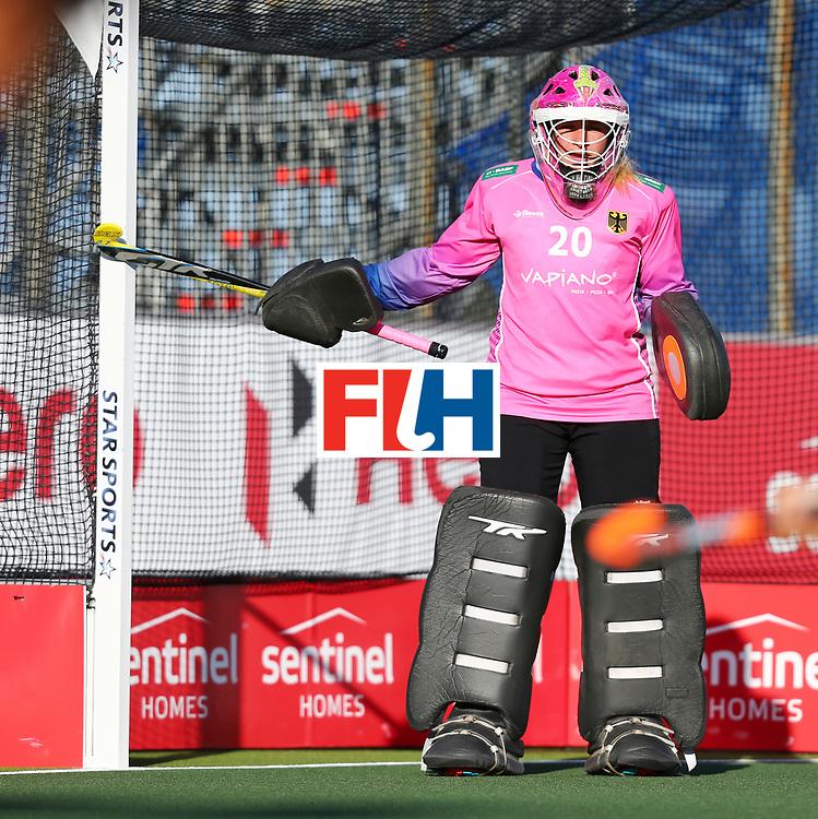 New Zealand, Auckland - 22/11/17  <br /> Sentinel Homes Women&rsquo;s Hockey World League Final<br /> Harbour Hockey Stadium<br /> Copyrigth: Worldsportpics, Rodrigo Jaramillo<br /> Match ID: 10303 - GER vs KOR<br /> Photo: (20) CIUPKA Julia (GK)