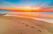 Sunrise at Sandy Hook New Jersey