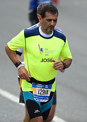 01-11-2015 USA: NYC Marathon We Run 2 Change Diabetes day 4, New York<br /> De dag van de marathon, 42 km en 195 meter door de straten van Staten Island, Brooklyn, Queens, The Bronx en Manhattan / José