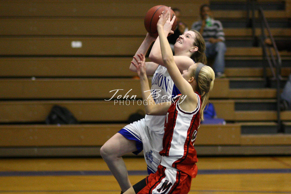 MCHS JV Girls Basketball.vs George Mason.1/24/08