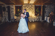 Wintery Cambridge Mill Wedding