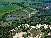Nederland, Overijssel, Gemeente Ommen; 21–06-2020; Salland, Vechtdal met Landgoed Beerzeen de spoorlijn Spoorlijn Zwolle - Emmen (Vechtdallijn).<br /> Salland region, local railway<br /> <br /> luchtfoto (toeslag op standaard tarieven);<br /> aerial photo (additional fee required)<br /> copyright © 2020 foto/photo Siebe Swart