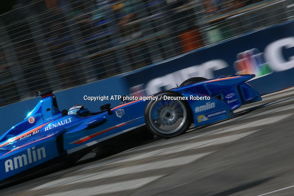 Salvador DURAN, (MEX), Amlin Auguri racing,<br /> Buenos Aires; January 10th 2015, E-Prix, FIA Formula E, <br /> fee liable image, copyright@ ATP Decurnex Roberto