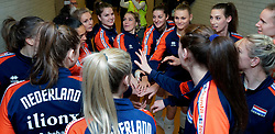 10–01-2020 NED: Olympic qualification tournament women Netherlands - Poland, Apeldoorn<br /> The Dutch volleyball players lost the third group match of the OKT in Apeldoorn 3-1 against Poland / Team NL