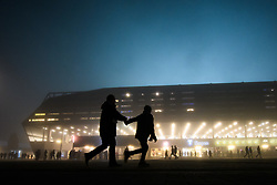 November 8, 2018 - MalmÅ, Sweden - 181108 General exterior view of Stadion prior to the Europa League group stage match between MalmÅ¡ FF and Sarpsborg 08 on November 8, 2018 in MalmÅ¡..Photo: Petter Arvidson / BILDBYRN / kod PA / 92149 (Credit Image: © Petter Arvidson/Bildbyran via ZUMA Press)