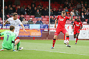 Crawley Town Forward James Collins during the EFL Sky Bet League 2 match between Crawley Town and Luton Town at the Checkatrade.com Stadium, Crawley, England on 17 September 2016. Photo by Phil Duncan.
