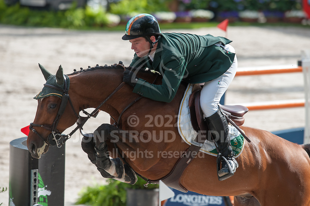 Cian O'Connor (IRL) & Blue Loyd 12 - Round 2 - Nations Cup - CHIO Rotterdam 2012 - Rotterdam, Netherlands - 22 June 2012