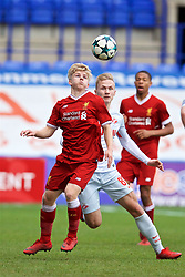 BIRKENHEAD, ENGLAND - Wednesday, December 6, 2017: Liverpool's Edvard Sandvik Tagseth during the UEFA Youth League Group E match between Liverpool FC and FC Spartak Moscow at Prenton Park. (Pic by David Rawcliffe/Propaganda)