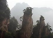 The Zhangjiajie mountain was featured in James Cameron's Avatar.