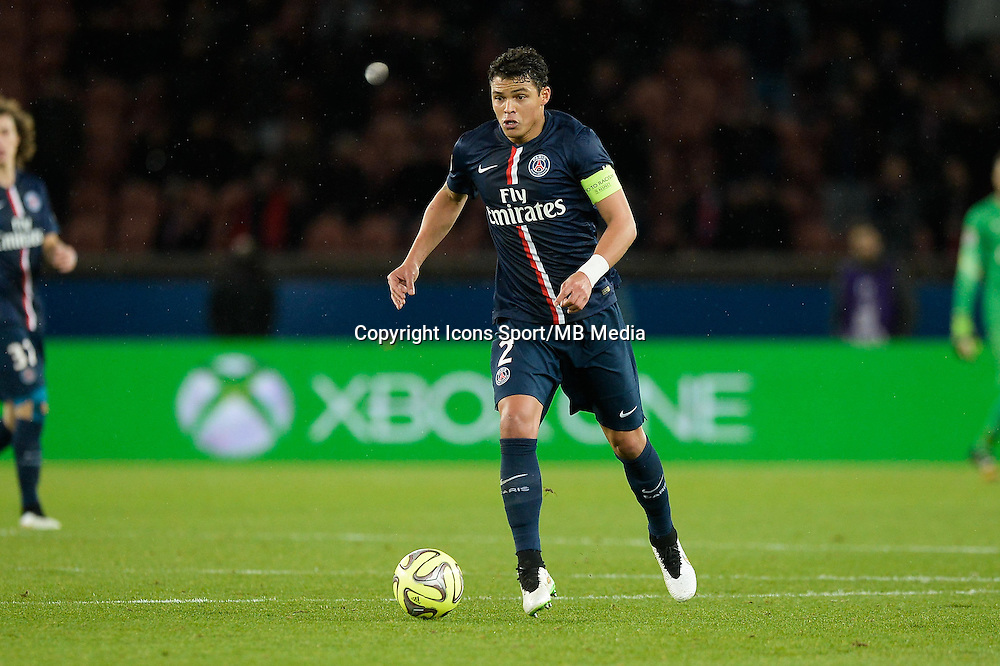 Thiago SILVA - 20.12.2014 - Paris Saint Germain / Montpellier - 17eme journee de Ligue 1 -<br />