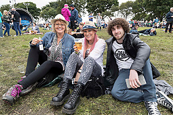 The Begbies performing at Party At The Palace Music Festival in Linlithgow Palace grounds on Sunday 14th August 2016.<br /> <br /> Alan Rennie/ EEm