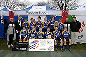 National Schools 7s 2006. Tuesdays winners and runners up with wooden spoon