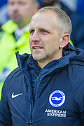 Paul Trollope, Assistant Manager of Brighton & Hove Albion FC during the FA Cup fourth round match between Brighton and Hove Albion and West Bromwich Albion at the American Express Community Stadium, Brighton and Hove, England on 26 January 2019.
