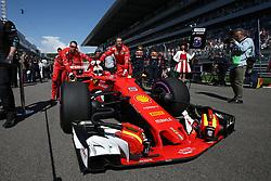 April 30, 2017 - Sotschi, Russia - Motorsports: FIA Formula One World Championship 2017, Grand Prix of Russia, .#5 Sebastian Vettel (GER, Scuderia Ferrari) (Credit Image: © Hoch Zwei via ZUMA Wire)