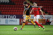 Bradford City midfielder Romain Vincelot (6)  with a shot on goal during the EFL Sky Bet League 1 match between Charlton Athletic and Bradford City at The Valley, London, England on 14 March 2017. Photo by Matthew Redman.